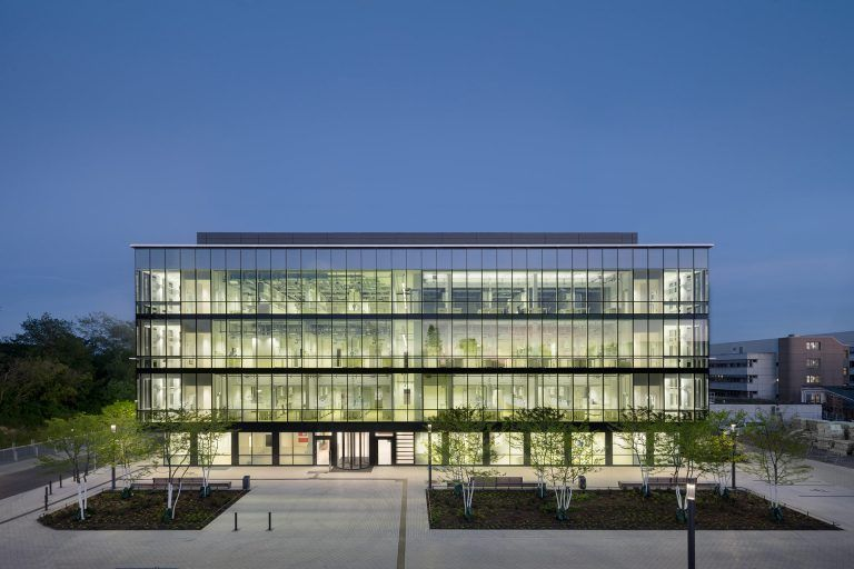New building for Biomedical Research, Lübeck University