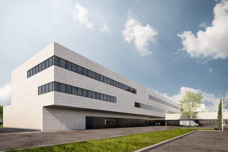 Werkstattgebäude für die Naturwissenschaften, Universität Regensburg