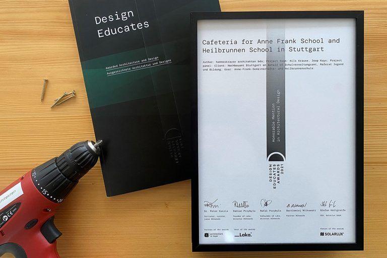 Design Educates Awards Ceremony 2021